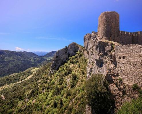 Chateaux Cathare (Peyrepertuse)